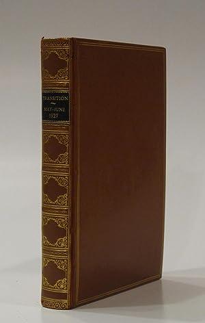 transition. No. 2 and 3: JOLAS, EUGENE (Ed.) JOYCE, JAMES; GOTTFRIED BENN; RILKE; KAY BOYLE; PAUL ...