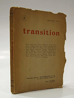 Transition No 5. (August 1927)