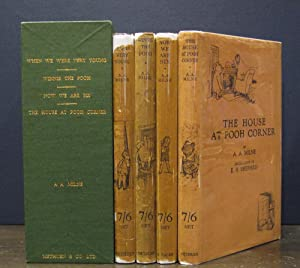 Winnie-the-Pooh Books, Complete Four Volumes:] When We: Milne, A. A.