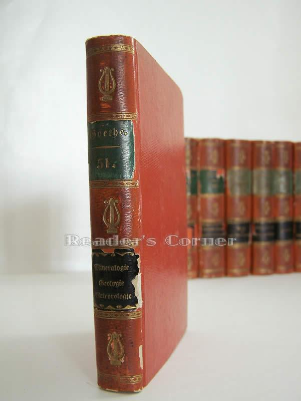 Werke. Vollständige Ausgabe letzter Hand, Band 51. Goethes nachgelassene Werke, Eilfter Band: ...