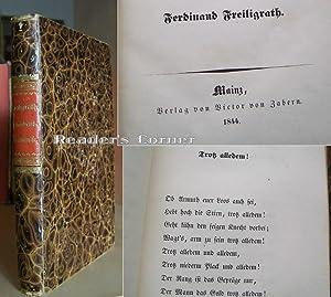 Ein Glaubensbekenntniß. Zeitgedichte von Ferdinand Freiligrath.: Freiligrath, Ferdinand: