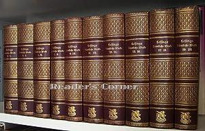 Lessings sämmtliche Werke in zwanzig Bänden. Herausgegeben und mit Einleitungen versehen ...