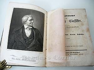 National-Bibliothek der Deutschen Classiker [Klassiker], Siebenzehnter Supplementband. Varnhagen. ...