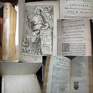 Genealogia Iesv [ Jesu ] Christi Per Mundi Aetates versu deducta à F. Io. Bapt. vanden ...