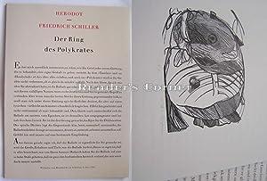 Herodot - Friedrich Schiller, Der Ring des Polykrates. Alte Geschichten - Neue Balladen 1/I. ...