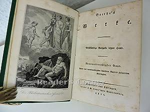 Werke. Vollständige Ausgabe letzter Hand, Band 39: Philostrats Gemählde; Abendmahl von ...