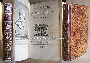 Theodori Bezae Vezelii Poemata; Marci Antonii Mureti: Beze, Theodore, Marc-Antoine
