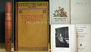 August Strindbergs Werke. Entzweit - Einsam. Lebensgeschichte, Band 5 [1892-1894; 1899-1900]. ...