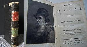 Werke. Vollständige Ausgabe letzter Hand, Band 34: Benvenuto Cellini. Erster Theil.: Goethe, ...