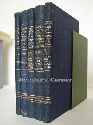 Byron`s Werke, 5 Bände: 1, Manfred; Kain; Himmel und Erde; Sardanapal. 2, Don Juan, Teil 1. 3,...