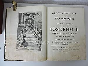 Brevis notitia urbis veteris Vindobonae ex variis: Fischer, Leopold: