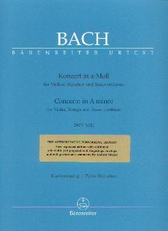 Konzert in a-Moll: Bach, Johann Sebastian