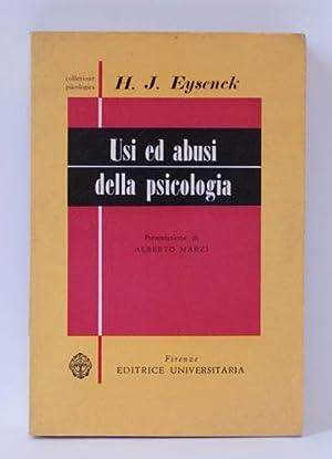 usi ed abusi della psicologia: H.J. eysenck