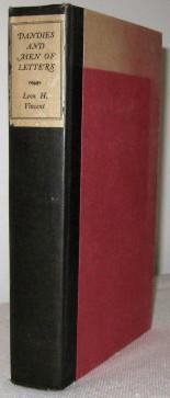 Dandies and Men of Letters: Leon H Vincent