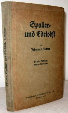 Saplier Und Edelobst: Von Johannes Bottner