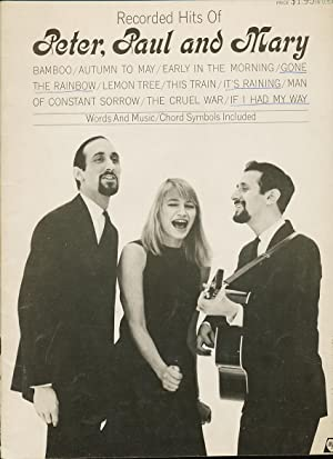 RECORDED HITS OF PETER, PAUL AND MARY: SEARS, JERRY (ARRANGED