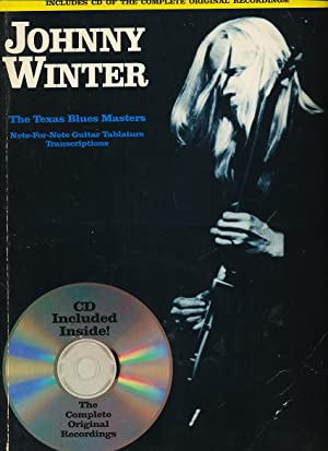Johnny Winter The Texas Blues Masters And Cd: Greatest Hits: Creative Concepts Publishing; Devinck,...