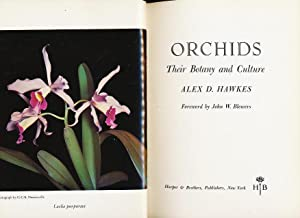 Orchids: Their botany and culture