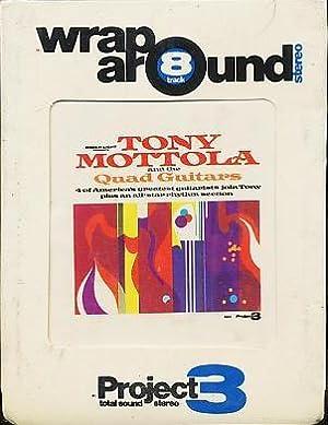 Tony Mottola and The Quad Guitars (Quad Quadrophonic 8 Track Sealed): Mottola, Tony; Guitars, The ...
