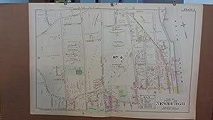 Original 1903 Map: Part of Newburgh, Orange County, New York #5: Lathrop, J.M.