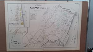Original 1903 Map: New Windsor, Vails Gate, Orange County, New York #8: Lathrop, J.M.