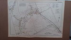 Original 1903 Map: Village of Chester, Orange County, New York #20: Lathrop, J.M.