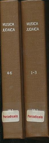 Musica Judaica, Volumes 1-6