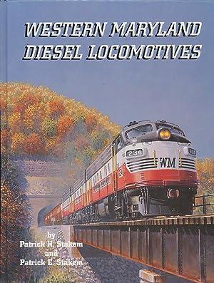 Western Maryland Diesel Locomotives: Stakem, Patrick