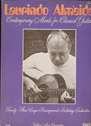 Laurindo Almeida: Contempory Moods For Classical Guitar [Songbook]