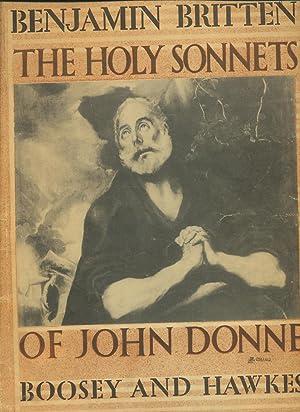 The Holy Sonnets of John Donne. Op.: Donne, John
