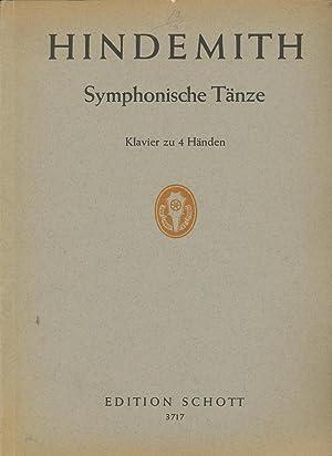 Symphonische Tänze für Orchester . Partitur: Hindemith, Paul