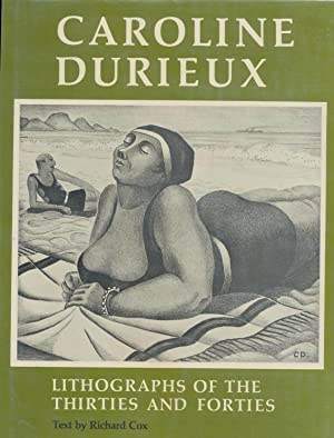 Caroline Durieux, lithographs of the thirties and forties: Durieux, Caroline