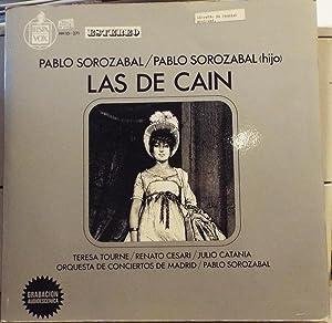 Las De Cain - Vinyl LP: Pablo Sorozabal, Pablo