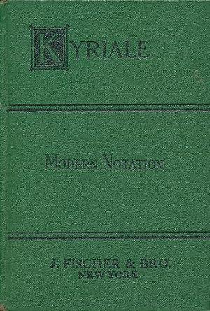 Kyriale seu Ordinarium Missae (Modern Notation): Shea, Michael J.