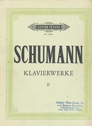 Robert Schumann: Klavierwerke, Band II, Edition Peters,: Schumann, Robert