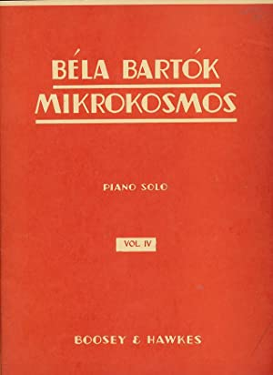 Bela Bartok Mikrokosmos : Piano Solo, Vol.: Bartok, Bela