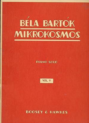 Mikrokosmos Volume V for Piano Solo: Bartok, Bela
