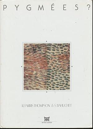 Pygme?es?: Peintures sur e?corce battue des Mbuti: Thompson, Robert Farris