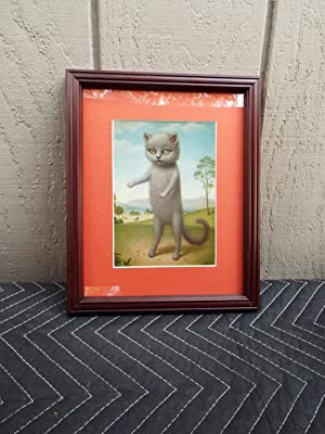 Marion Peck Framed Print: Pussy