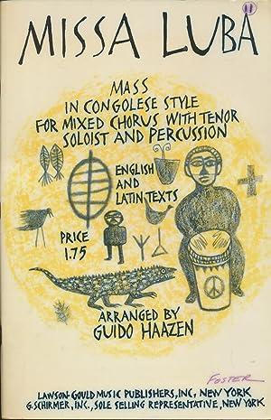 Missa Luba: SATB (Lawson-Gould): Haazen, Guido