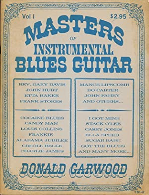 Masters of Instrumental Blues Guitar (First Edition: Garwood, Donald