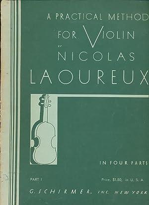 A Practical Method For Violin, Part 1: Laoureux, Nicolas