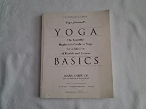 Yoga basics; the Essential Beginner's Guide to Yoga for a Lifetime of Health and Fitness: Mara...