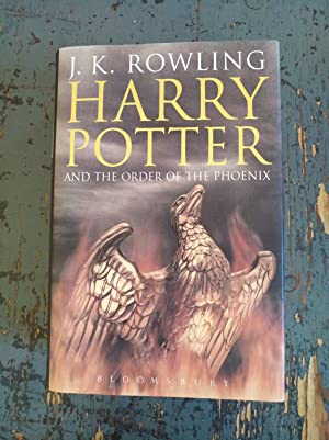 Harry Potter and the Order of the Phoenix - Adult Edition