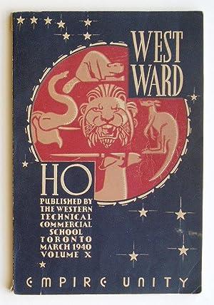 Westward Ho, Volume X: Deakin, Eric (Editor)