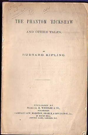 THE PHANTOM 'RICKSHAW AND OTHER TALES: Kipling, Rudyard