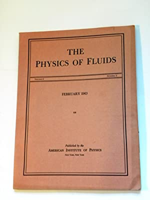 The Physics of Fluids Volume 6/Number 2