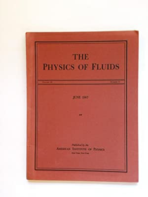 The Physics of Fluids Volume 10/Number 6