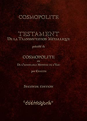 TESTAMENT-DE TRANSMUTATION METALLIQUE