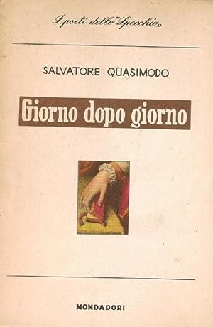 Giorno dopo giorno,: Quasimodo Salvatore